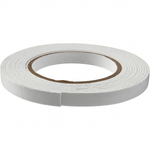 Creotime 3D foam tape 5 m x 12 mm wit