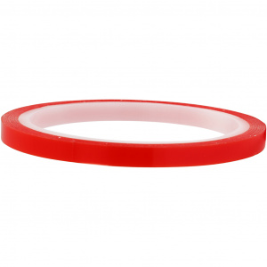 Creotime dubbelzijdig klevend power tape 10 m x 7 mm rood
