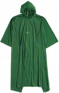 TOM regenponcho junior PVC groen one-size