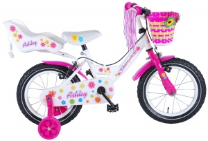 Volare Ashley 14 Inch 23,5 cm Meisjes V-Brake Wit