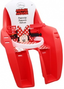 Widek Poppenzitje Minnie Mouse Rood