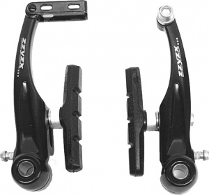 Zzyzx V-brake-set Tektro 110 mm aluminium zwart