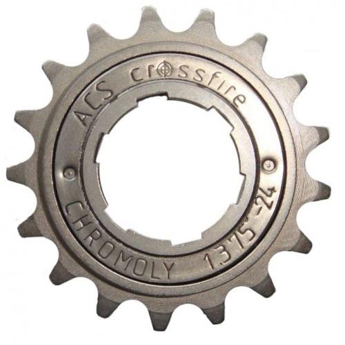 Afbeelding van ACS freewheel Crossfire 18T 1/2 x 3/32 inch grijs