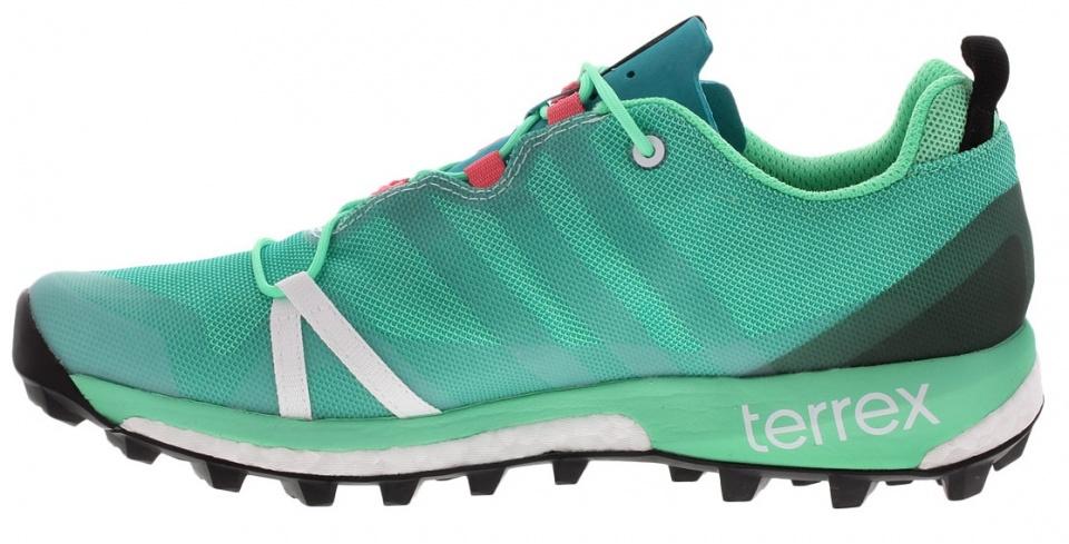 Chaussures De Course Adidas Terrex Femmes Agravic Mt Rouge 36 Umvso6