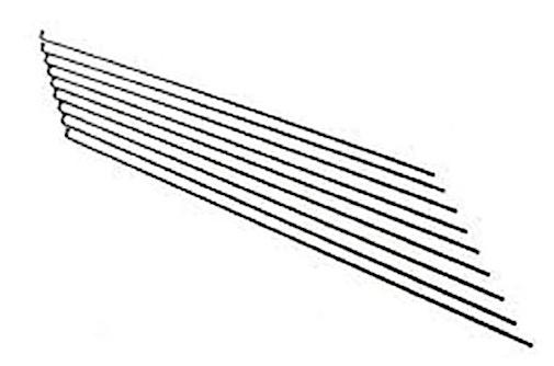 Alpina spaken zonder nippels 13 262 zink/staal zilver 144 stuks