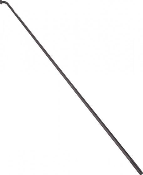 Alpina spaken zonder nippels 13G 244 mm RVS zwart 144 stuks