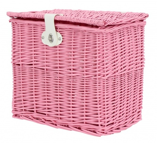 AMIGO bakkersmand voor 25,5 liter roze