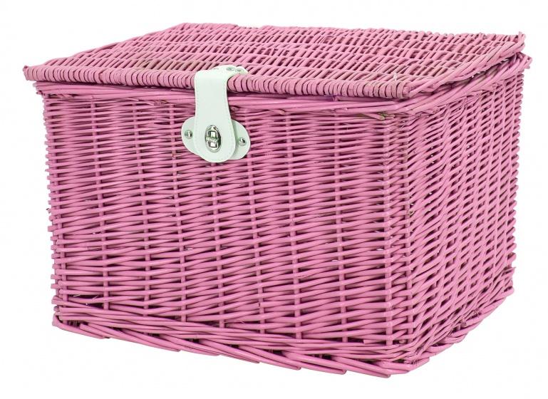 AMIGO bakkersmand voor 46,5 liter roze