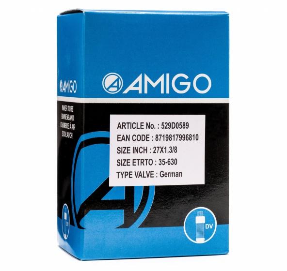AMIGO Binnenband 27 x 1 3/8 (35 630) DV 45 mm Sport>Fietsen>Fiets Onderdelen & Accessoires aanschaffen doe je het voordeligst hier