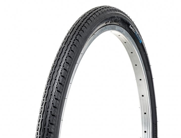 AMIGO Buitenband Ortem Vert X 1mm 26 x 1.75 (47 559) antilek zwart