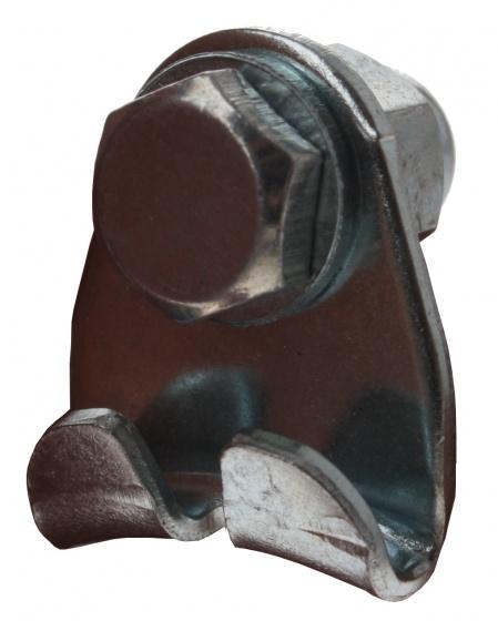 TOM kabelbrug driehoek cantilever zilver