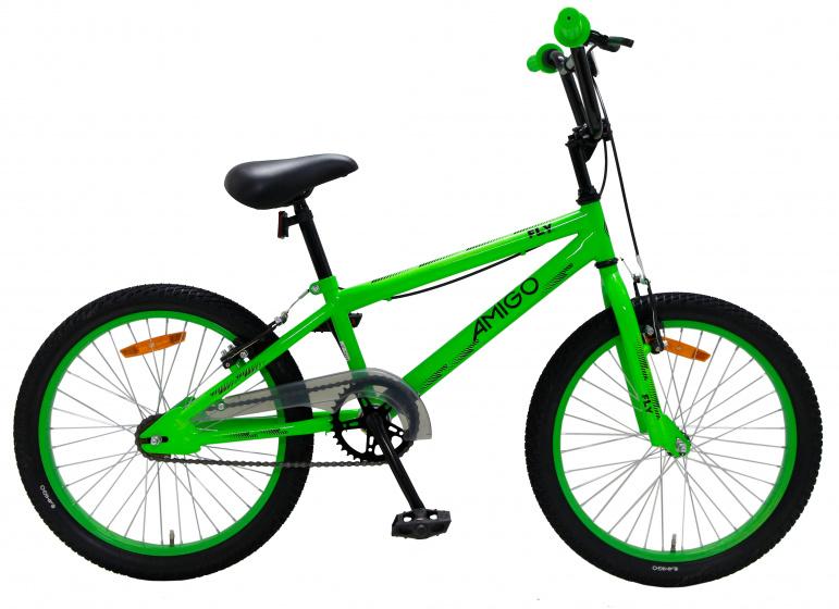 Amigo Fly BMX fiets 20 inch Voor jongens en meisjes Groen online kopen