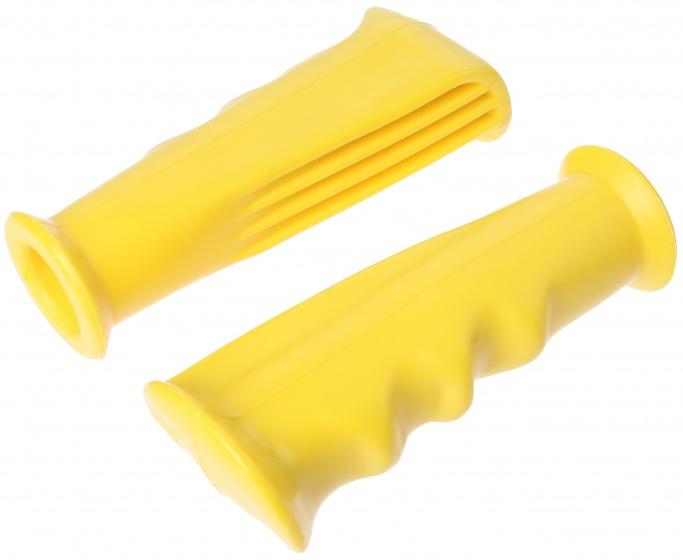 Afbeelding van ACS handvatten set BMX 12 cm geel