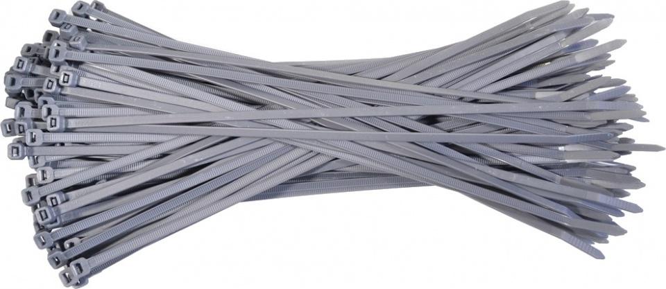 TOM kabelbinders 4,5 x 200 mm grijs 100 stuks