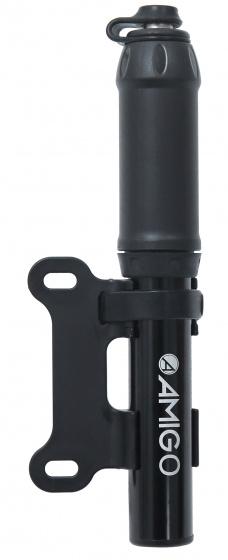 AMIGO minipomp M2 20 cm 8 Bar aluminium zwart