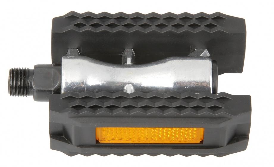 TOM pedalen set alloy 9/16 inch zwart stadsfiets