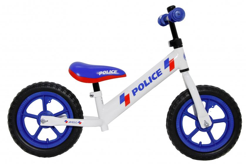 AMIGO Police 12 Inch Junior Wit