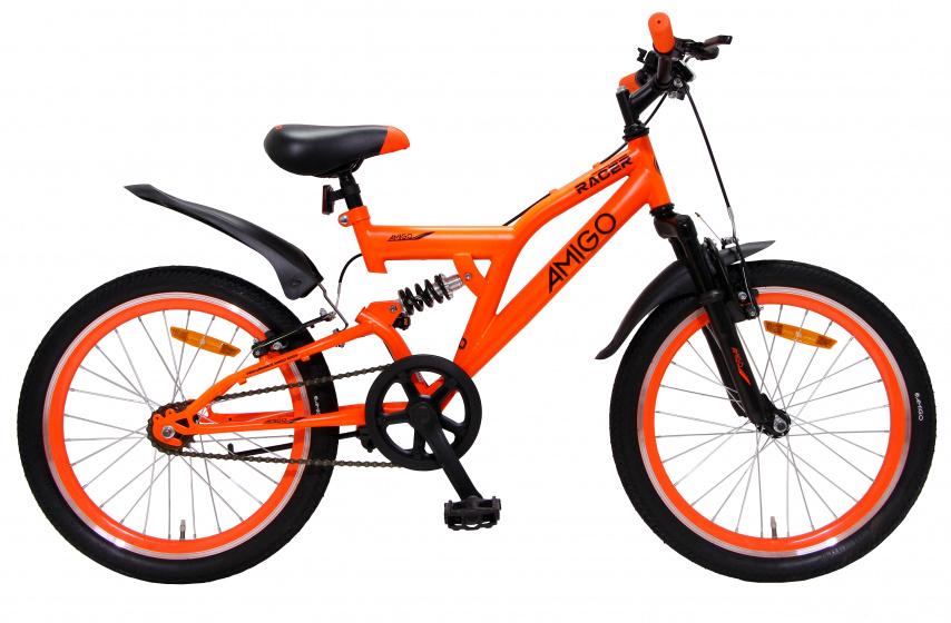 Amigo Racer Mountainbike 20 inch Voor jongens en meisjes Oranje online kopen