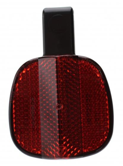 TOM reflector voor achtervork rood per stuk