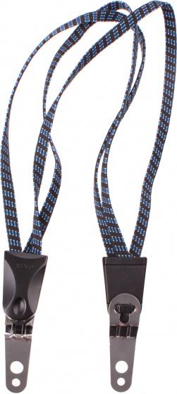 TOM snelbinder 50 cm blauw/zwart