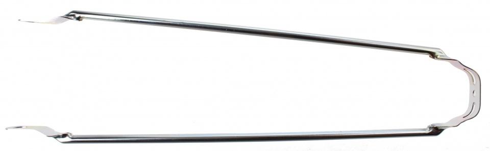 TOM spatbordstang 28 inch staal zilver per stuk