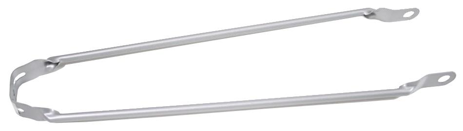 Amigo Spatbordstang Staal 28 Inch Zilver