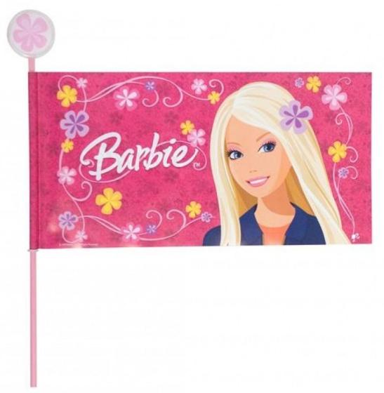 TOM veiligheidsvlag Barbie deelbaar 170 cm