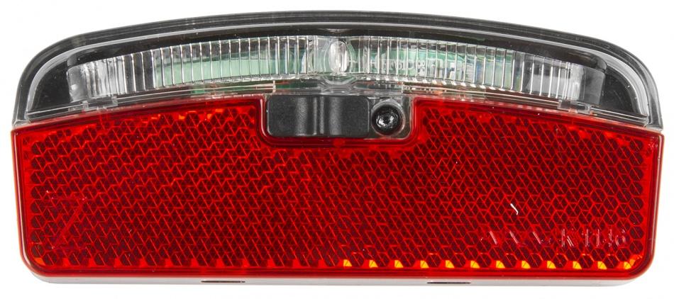 Anlun Achterlicht 75 mm batterijen rood