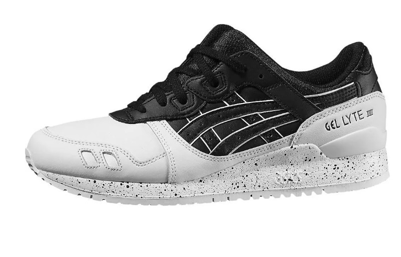 new styles 7eefb 0d35e Sneakers Gel Lyte III black and white men