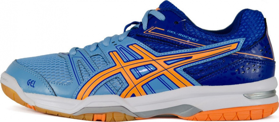 asics gel rocket 7 dames zwart