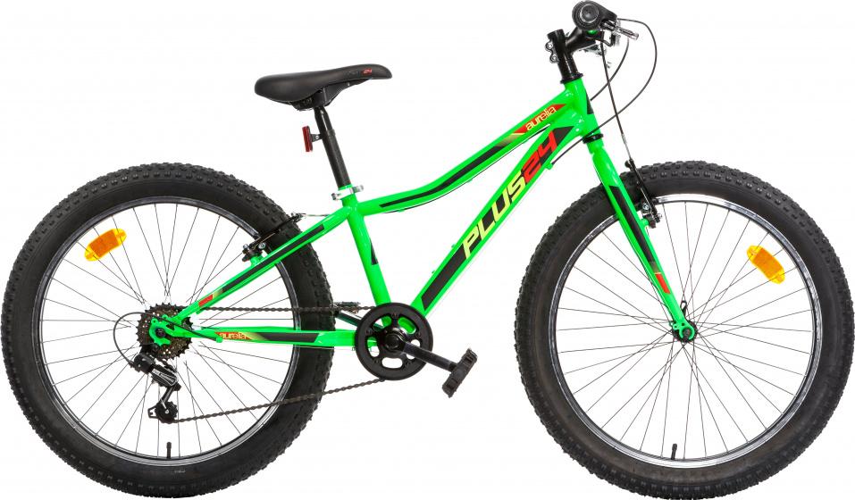 Aurelia Plus 24 Inch 38 Cm Junior 6v V-brakes Groen online kopen