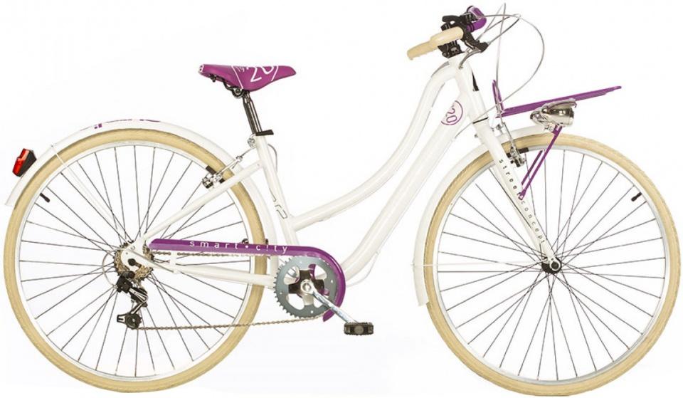 Aurelia Smart City 28 Inch 43 cm Dames 6V V Brake Wit