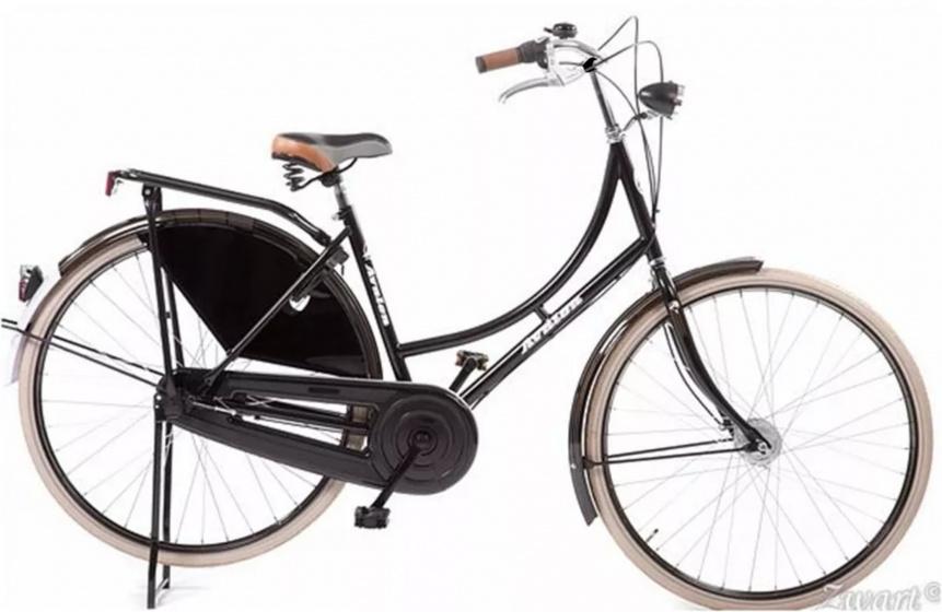 Avalon Classic De Luxe-s 28 Inch 50 Cm Dames 3v Rollerbrake Zwart online kopen