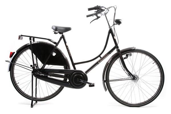 Avalon Classic De Luxe 28 Inch 57 Cm Dames 3v Trommelrem Zwart online kopen