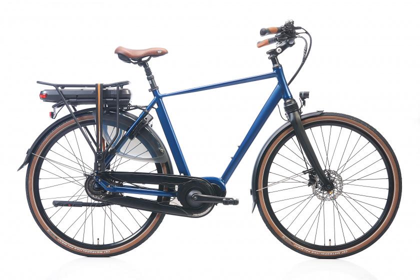 Kohlman Deluxe 28 Inch 57 cm Heren 8V Hydraulische schijfrem Blauw