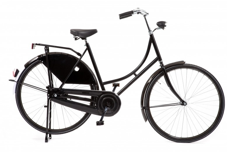 Avalon Omafiets Export 28 Inch 50 cm Dames Terugtraprem Zwart