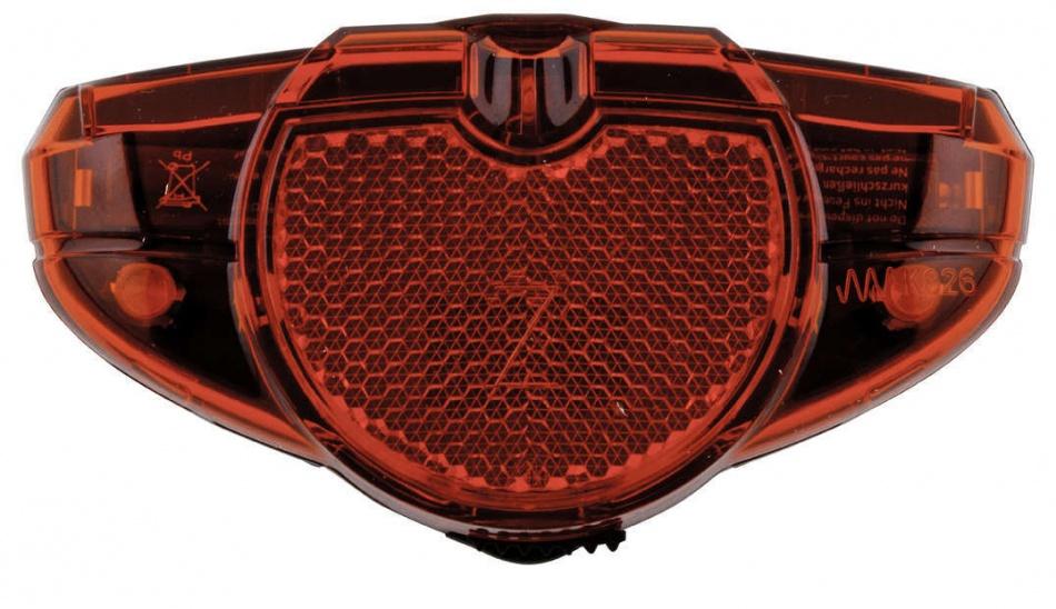 AXA achterlicht led batterij spark rood on-off 50-80mm