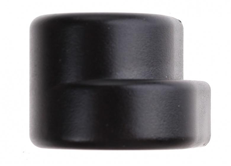 AXA duimknopje voor ringslot Defender zwart