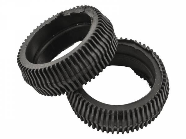 AXA dynamoloopwielen HR Traction rubber zwart 2 stuks
