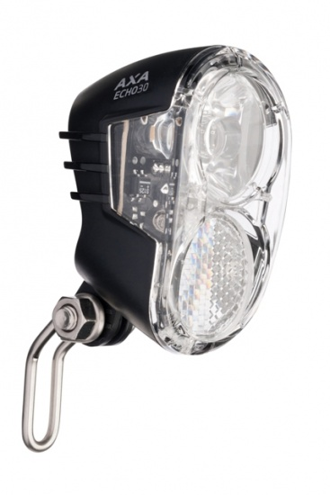 AXA voorlicht led (naaf)dynamo echo 30 lux on-off