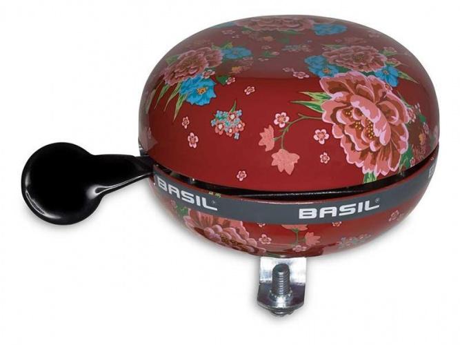 Afbeelding van Basil Big Bell Bloom Ding Dong 80mm Scarlet Red