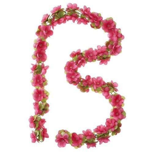 Afbeelding van Basil Bloemenstreng Flower Garland 120 cm fuchsia