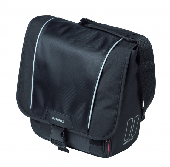 Basil fietstas Sport Design Commuter Bag 18 liter zwart