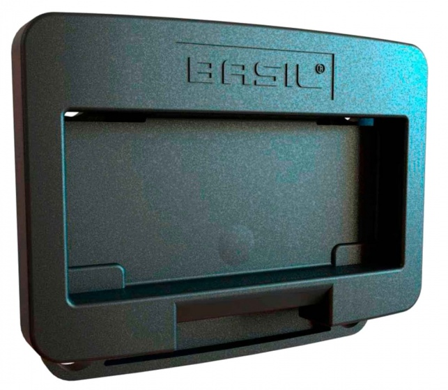Basil KLICKfix adapterplaat donkergrijs