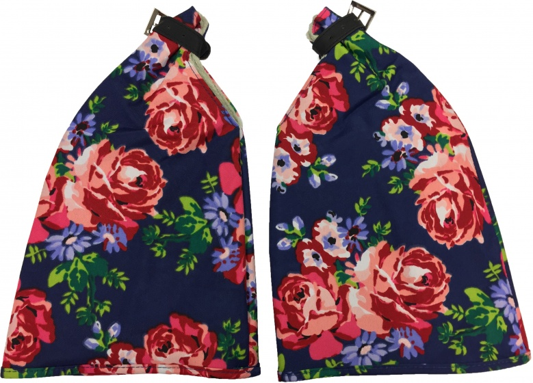 Basil Blossom Roses Handwarmers Blauw