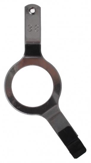 Batavus kettingkastbeugel zilver 15 x 5,5 cm
