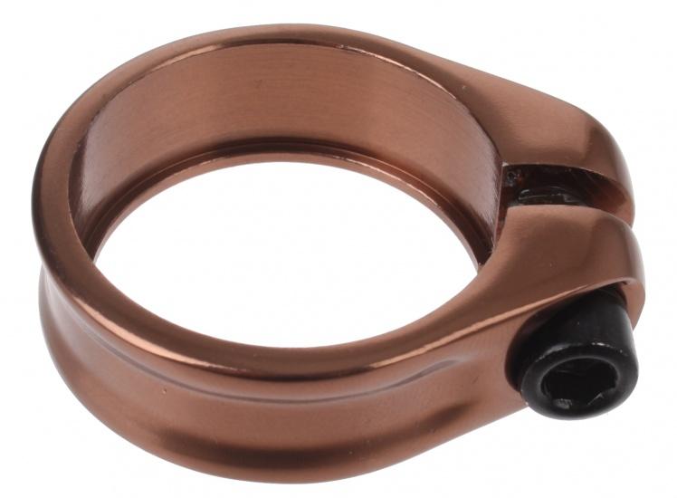 Batavus zadelpenklem inbus 34,9 mm aluminium brons