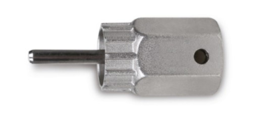 Beta freewheelsleutel 3984/3 geleiderpin staal 23,5 mm zilver