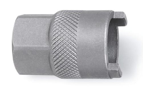 Beta freewheelsleutel 3984/5 staal 18,5 mm 2 noks zilver