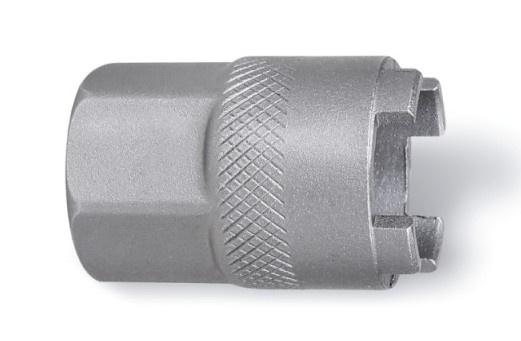 Beta freewheelsleutel 3984/6 staal 19,5 mm 4 noks zilver